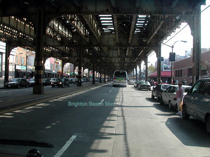Brighton Beach On Subway Map.Brighton Beach And Boardwalk In Brooklyn New York Pictures