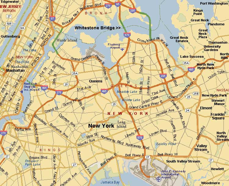 new york map brooklyn. Brooklyn Map