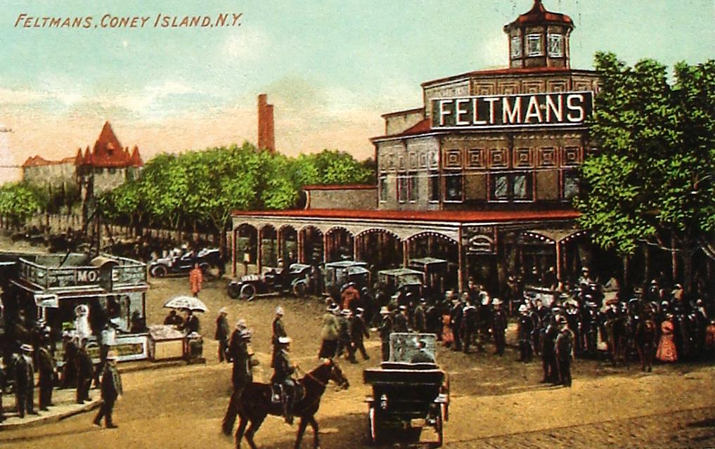 Feltmans Restaurant - Invented the Hot Dog